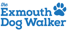 The Exmouth Dog Walker logo