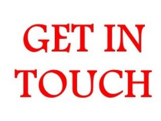 Get in touch message