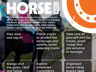 Pebblebed Horse Code Poster